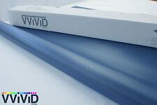 Blue Carbon Fiber Vinyl Wrap for Car Bike Boat 5ft x 39ft Air Release BLCF5M