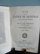 Vie du R. P. Xavier de Ravignan Vol. 1 P. A. DE PONLEVOY 1895