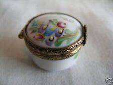 Petite boite en porcelaine de limoges