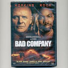 Bad Company 2002 PG13 action-comedy CIA movie new DVD Anthony Hopkins Chris Rock