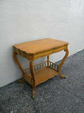 Side End Table Console with a Shelf and a Drawer 2489