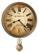 """620-441 HOWARD MILLER WALL CLOCK """"J.H. GOULD AND CO. III """"  620441"""