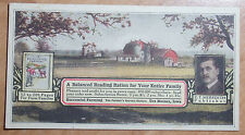 1914-18 Vintage Advertising Blotter For Successful Farming By E T Meredith