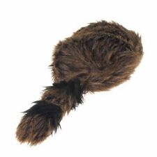 Raccoon Tail Adult Hat Fur Coonskin Cap Davey Crockett Coon Skin Daniel Boone