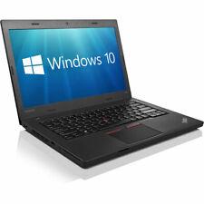 "Lenovo ThinkPad L460 14"" HD i5-6300U 8GB 256GB SSD WiFi Webcam Windows 10 Pro"