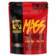 MUTANT MASS Weight Gainer Protein Powder Whey And Casein Blend High Calorie Choc