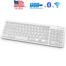 New Wireless Bluetooth Keyboard for Mac iOS Android Windows Computer Space
