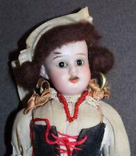 Antique 1909 Bisque Doll Schoenau & Hoffmeister Gypsy