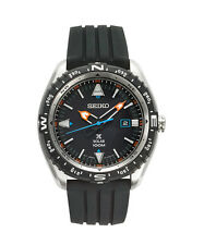 Seiko SNE423 Prospex Men's Black Silicone Bracelet With Black Analog Dial Watch