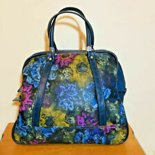 Vintage American Tourister Tiara Soft Carry On Luggage Overnight Floral Bag