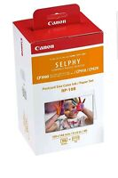 Canon RP-108 4x6 Paper/Ink, 108 Sheets for SELPHY CP820, CP910, CP1000