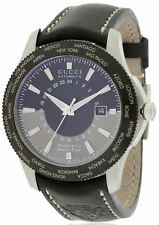 Gucci G-Timeless GMT Stainless Steel Watch YA126212