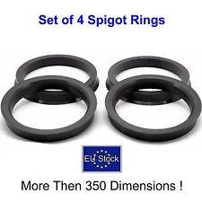 Spigot Rings,Spacer Rings,Hub Centric Rings for Car wheels 4 SET (73.1 x 54.1mm)