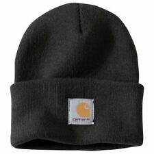Carhartt - Acrylic Watch Hat (Black) Beanie NEW 100% Authentic