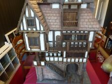 Large Tudor dolls house complete with Heidi Ott dolls & furniture & Accessories