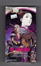 NEW Hakkenden Legend of the Dog Warriors VHS 1993 FACTORY SEALED!!! 1990s Anime