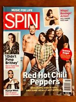 SPIN MAG MAY 06 Red Hot Chili Peppers, Kanye West, Britney Spears, Joanna Angel!