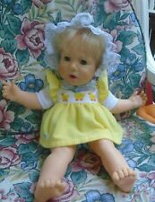 vintage 1985 Hasbro Real Baby Doll By Designer Judith Turner weighted feel real