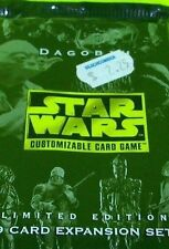 Star Wars Customizable Trading Cards Game Dagobah 9 Card Expansion Set Rare Pack