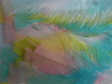 Pastel feathers 14 grams approx 60 feathers