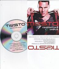 TIESTO RARE 5 TRACK SAMPLER CD [FT CALVIN HARRIS/NELLY FURTADO/KALEIDOSCOPE]