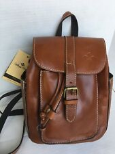 PATRICIA NASH ABERDEEN Leather Backpack Bag/Brown/$199/NWT