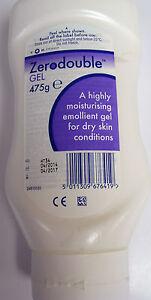 Zerodouble Gel,500g,moisturising emollient gel for dry skin  pump dispenser