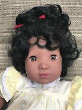Gotz Doll Alesia By Carin Lossnitzer 1990 18� Tall Soft Body Signed Euc