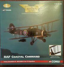 Corgi Aviation Fairey Swordfish III No.119 Sqn RAF Coastal Command AA36304 NEW