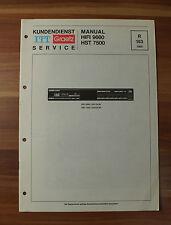 HIFI9660 HST7500 ITT Graetz Service Kundendienst Service Manual