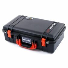 Black & Orange Pelican 1525 Air case With Foam.
