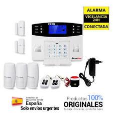 ⭐ Kit alarma sin cuotas AZ017 con 3 sensores de movimiento 2 de apertura hogar⭐