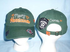 MIAMI HURRICANES  Sweetie style CAP/HAT  T.O.W. Womens OSFA size NWT  $22 retail