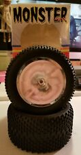 2 Monster Maxx RC off road Tires. Fits Traxxas T/E-Maxx.