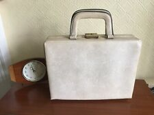 Vintage Retro Travel Beauty Vanity Bag Case Holder Luggage 1960s