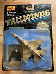 RARE🔥 Tailwinds Maisto Military F-16 Block 60 Die-cast 🔥COMBINE SHIPPING
