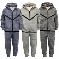 Boys Tracksuit Kids Hooded Top Sweatshirt Bottoms Jogging Trousers Summer Casual
