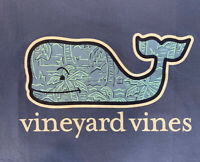 Vineyard Vines Men's S/S Pocket Tshirt Palm Sketch Whale Fill Blue Sz 2XL~ NWT