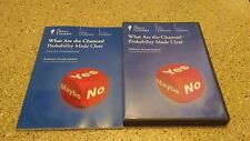 "What are the Chances? Probability Made Clear ""The Great Courses ""DVD w/ Booklet"