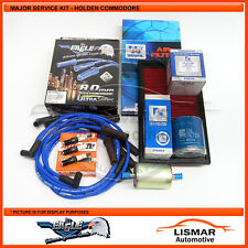 Major Service Kit for Holden Commodore VN Series 2, V6 3.8Ltr with Eagle Leads