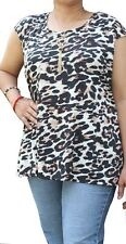 Plus size new cap sleeve top with detachable necklace..shipped from usa