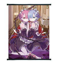 Re:Zero Anime Ram & Rem Wall Scroll Medium - 40x60 CM