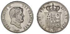 120 GRANA. Ag. FERDINAND II NAPLES / FERNANDO II NÁPOLES. 1857. XF+/EBC+.