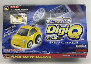 Takara Konami Micro iR DigiQ DQS-09 Cox New Beetle (yellow 2001) New Sealed