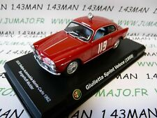 IT77M voiture 1/43 ALFA ROMEO : Giulietta sprint Veloce 1959 Monte Carlo 1962