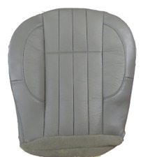 98- 01 Jeep Cherokee Classic 4.7L V8 GAS Driver Bottom Leather Seat cover GRAY