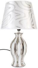 Lampe elegant edel Tischleuchte Tischlampe Nachtlichter Relief stilvoll 267