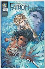 FATHOM #8 COVER A VOLUME 2 (2005) NEAR MINT 9.4 MICHAEL TURNER