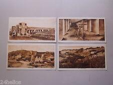 4 CPA Carte Photo VERDUN 14/18 WW1 Monument Baïonnette/Vaux/Douaumont/ Militaria