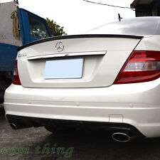 PAINTED MERCEDES BENZ W204 C CLASS  A TYPE  REAR BOOT SPOILER WING SALOON 13 C63